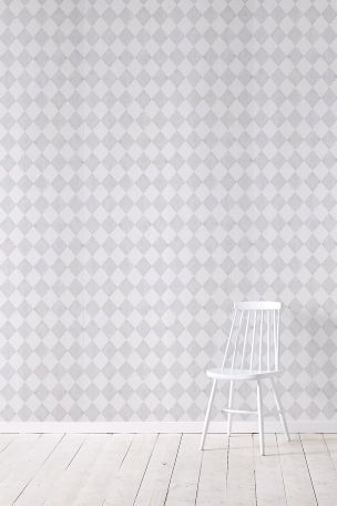 Wallpaper by ellos Tapet Harmony ljusgrå 399:-/rulle
