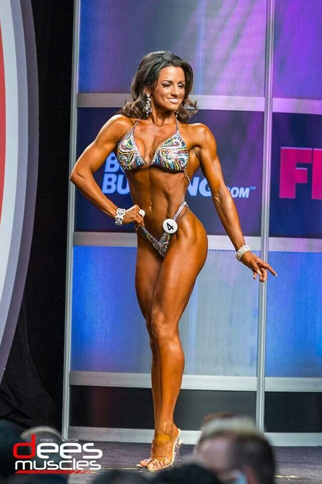 bikini competitors on steroids