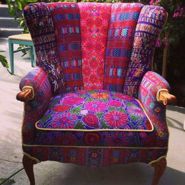Attrayant Folk Project Home Decor. Bohemian FurnitureFunky FurniturePatchwork ChairRestoring  ...