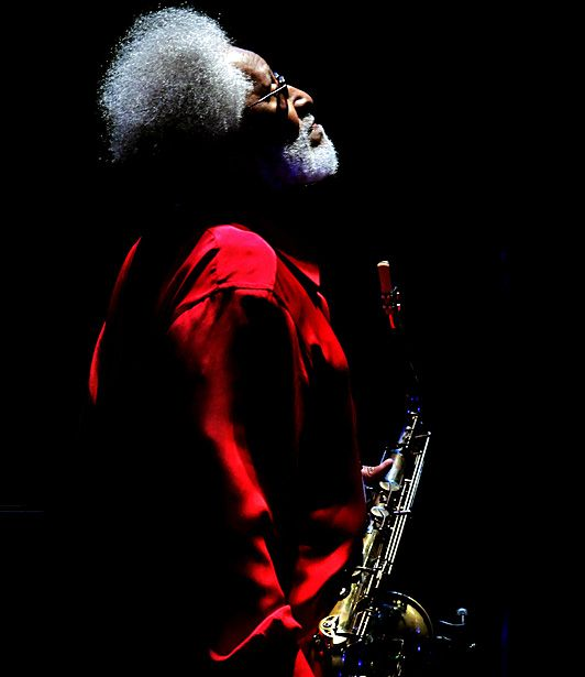 Tokyo — Jazz great Sonny Rollins pauses during his concert in Tokyo on Oct. 4. Rollins is on an 80th birthday tour in a nation long known for its love of jazz.