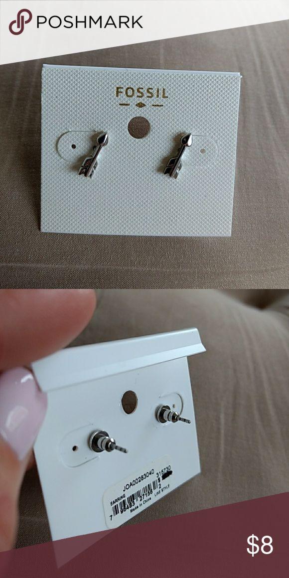 FOSSIL earrings, brand new Never worn! Fossil Jewelry Earrings