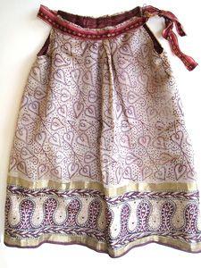 Upcycled Sari Dresses