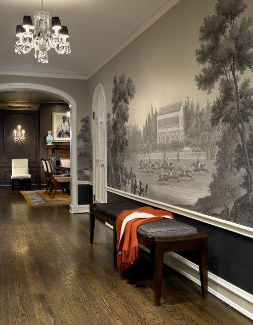 1000 ideas about foyer wallpaper on pinterest foyers for Foyer wallpaper ideas