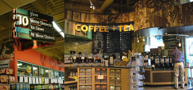 19) Of course Whole Foods even had a coffee, tea and juice bar to ...
