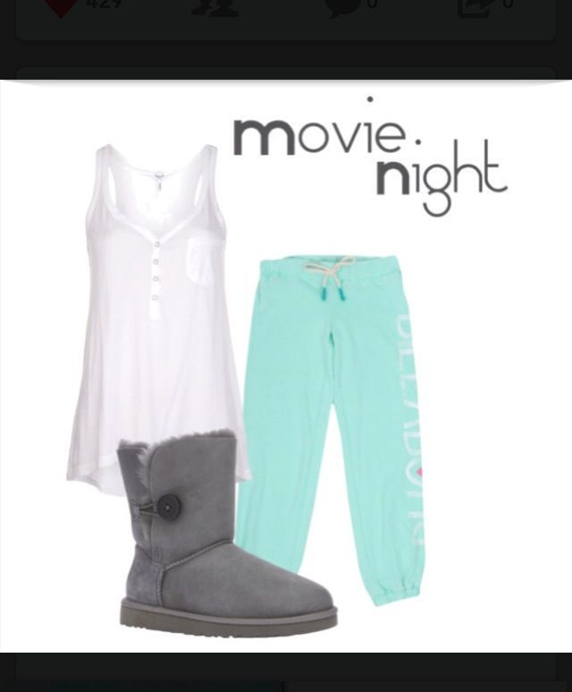 Movie night outfit