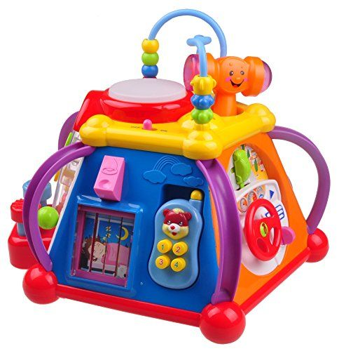 Musical Learning Toy For Toddlers TG654 - Children's Musical Activity play Centre with lights and Sounds – Learning Toys For Boys and Girls Toddlers By ThinkGizmos (Trademark Protected). For price & product info go to: https://all4babies.co.business/musical-learning-toy-for-toddlers-tg654-childrens-musical-activity-play-centre-with-lights-and-sounds-learning-toys-for-boys-and-girls-toddlers-by-thinkgizmos-trademark-protected/
