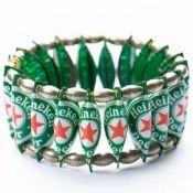 Heineken Beer Bottle Caps - a Great  Bracelet