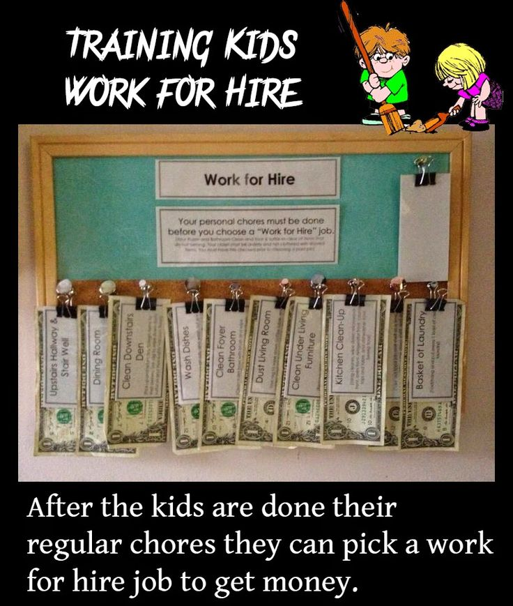 Training Kids Work for Hire