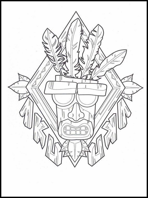 Crash Bandicoot 13 Dibujos Faciles Para Dibujar Para Ninos Colorear Dibujos Faciles Para Dibujar Dibujos Siluetas Animales