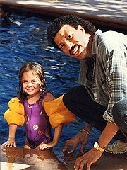 "1984- lionel richie adopts nicole richie at the age of 3. ""my parents were friends with lionel richie"" nicole richie  later said in 2003, ""they trusted that the would be better able to provide""     (#1)"