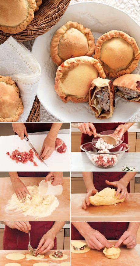 La Cucina Italiana - Ricetta regionale: panadas
