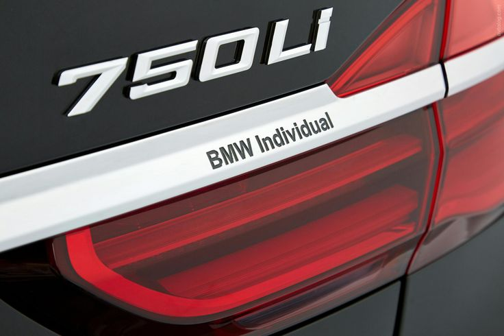 2015 BMW 750Li Individual Segment F 7 Series German Brands 750i