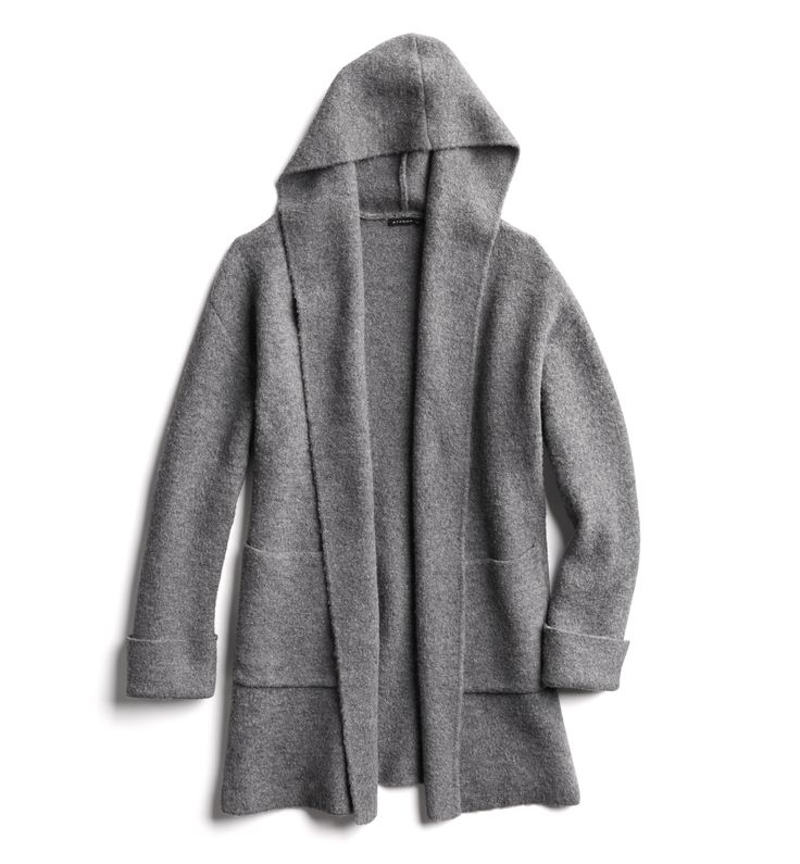 Hooded cardigan - would love this with a coordinating top to go underneath-NS
