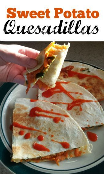 Clean Eating Sweet Potato Quesadillas http://sublimereflection.com