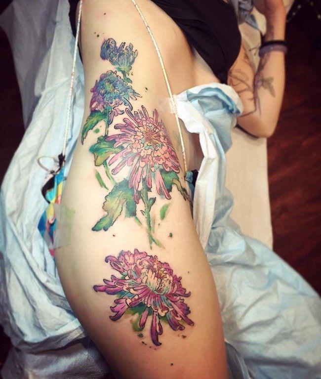 100 Seductive Hip Tattoos For Women: Best 25+ Inked Girls Ideas On Pinterest