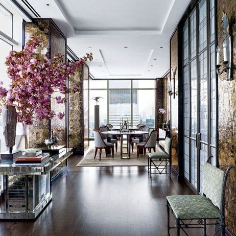 Giancarlo Giametti :: NY Apt :: Corridor: Architectural Digest