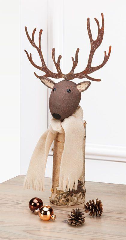Habt Ihr schon mit Adventsbasteln angefangen? Wir haben heute im Blog eine Anleitung für einen Elch mit Rostgeweih - das sieht zauberhaft nostalgisch aus - genau richtig für die Vorweihnachtszeit:http://blog.buttinette.com/basteln/bastelanleitung-elch-mit-rostgeweih/