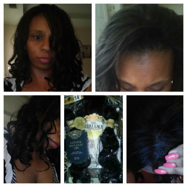 360 frontal and sew-in finished...brazilian body wave hair was spiral curled....the 360 frontal was placed behind my edges instead of on the edges to give a more realistic look. I do plan on moving the frontal to my edges next month when I dye the 360 frontal blonde..........#what360frontal #fullsew-in #hairreallynicenoshedding