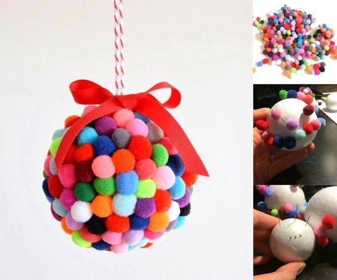 Les 25 meilleures id es de la cat gorie boules de no l sur pinterest d cora - Pinterest boule de noel ...