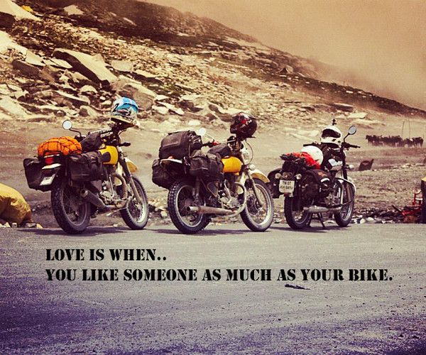 Thumps From The Heart Quotes For Royal Enfield By