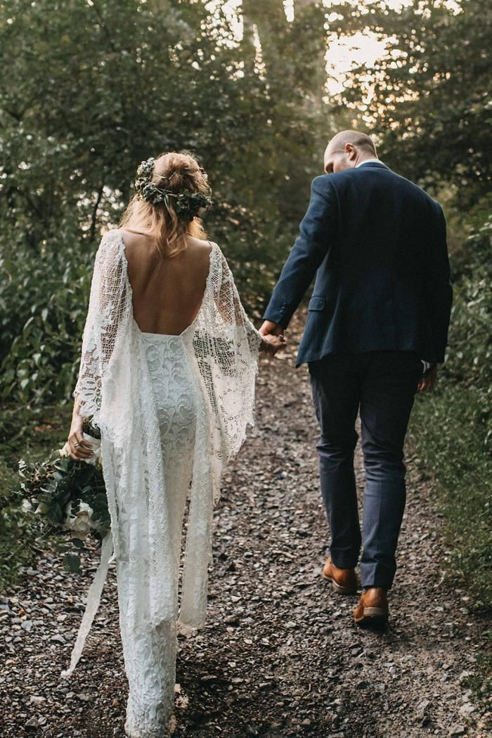Katrin in our VERDELLE 2.0 gown | Grace Loves Lace