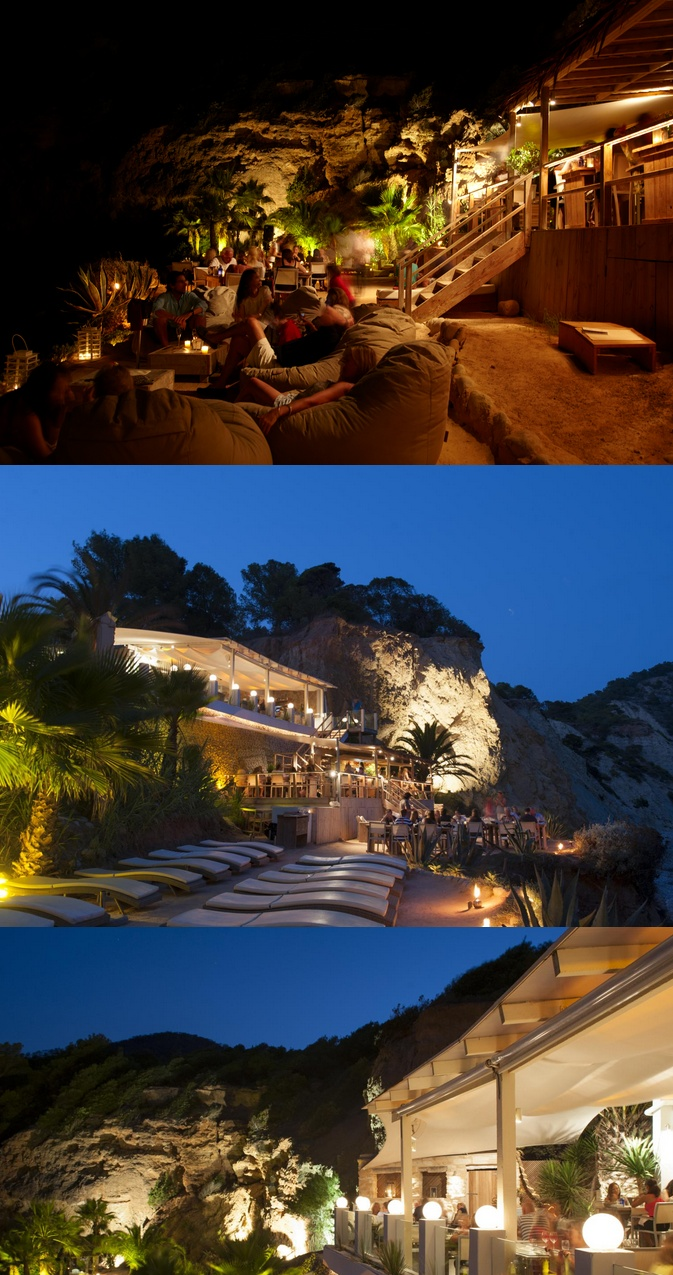 Amante Ibiza - Cliff-side restaurant