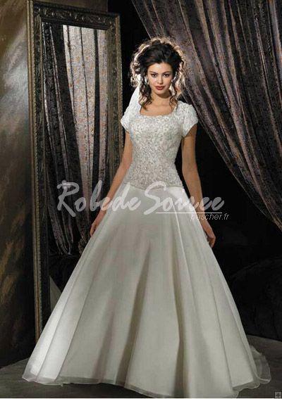 Robe de mariee type princesse ou a line