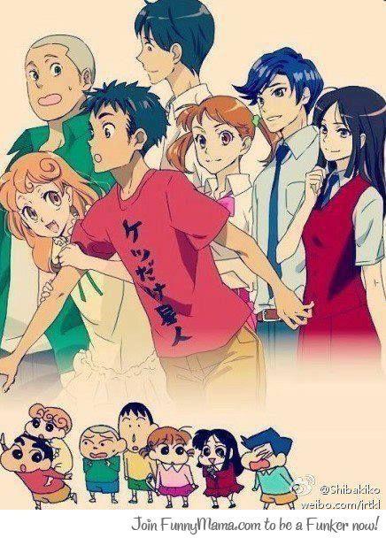 crayon shin chan anime version