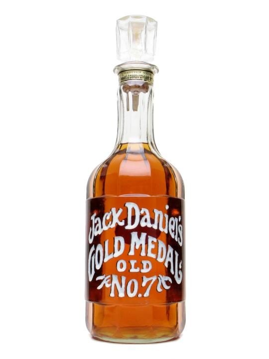 Jack Daniel's 1971 Gold Medal / Bot.1970s : Buy Online - The Whisky Exchange - An original 1971 Gold Medal half-gallon bottle of Jack Daniel's in good condition. As these old bottles can have a tendancy to leak, we can only ship to a UK address