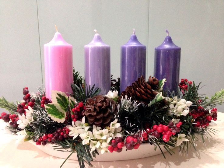 Advent wreath idea