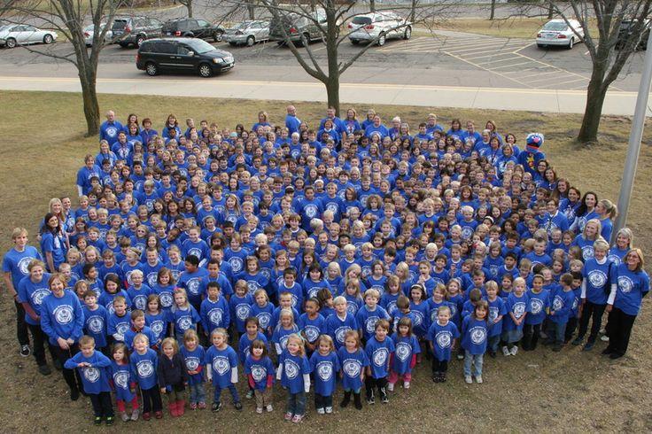 Hilltop celebrates its 2012 National Blue Ribbon Award.