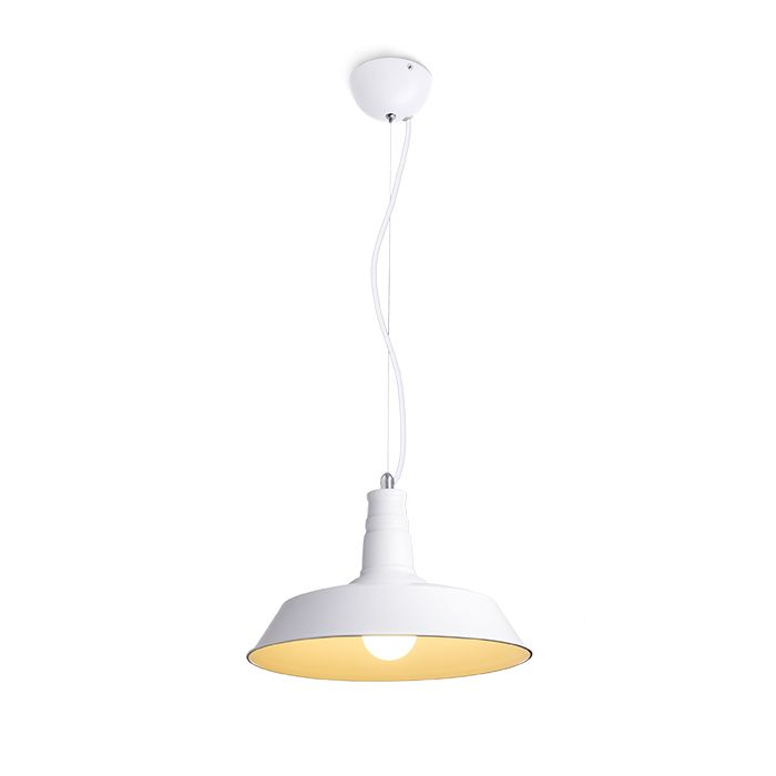 GOLDIE 46 | rendl light studio | Metal pendant available in three different colors. #lamps #pendant #white #chandelier