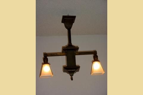 Mission Style Lighting Fixtures Chandeliers Antique 1898