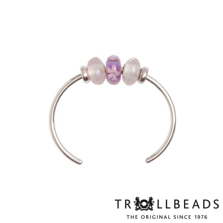 Silver Bagle Bracelet by Trollbeads - Shop the 2015 Spring Collection at www.trollbeads.com #newhorizons #handcrafted