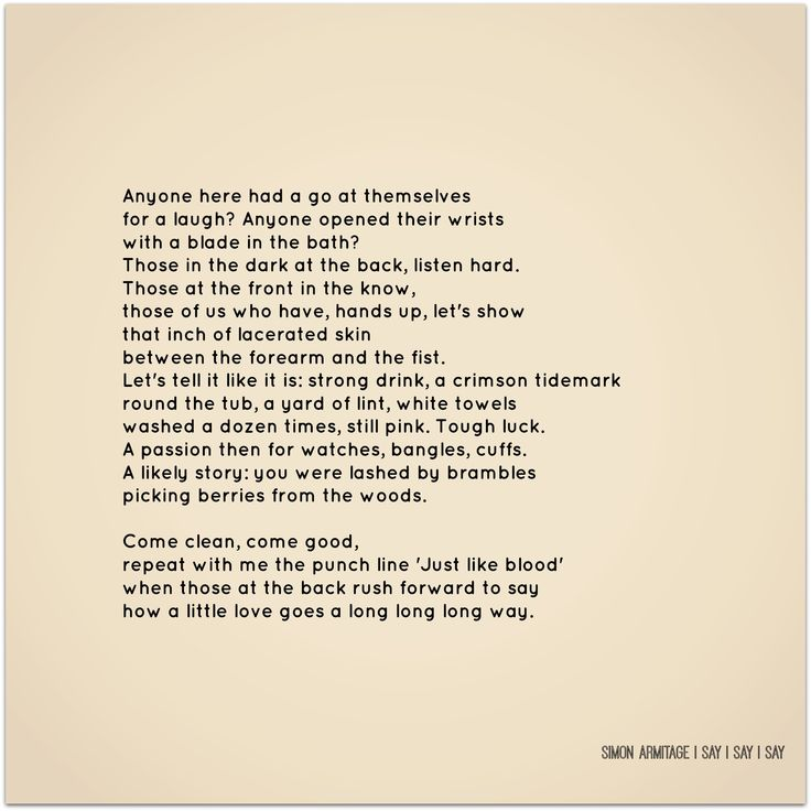 simon armitage i say i say i say - Google Search