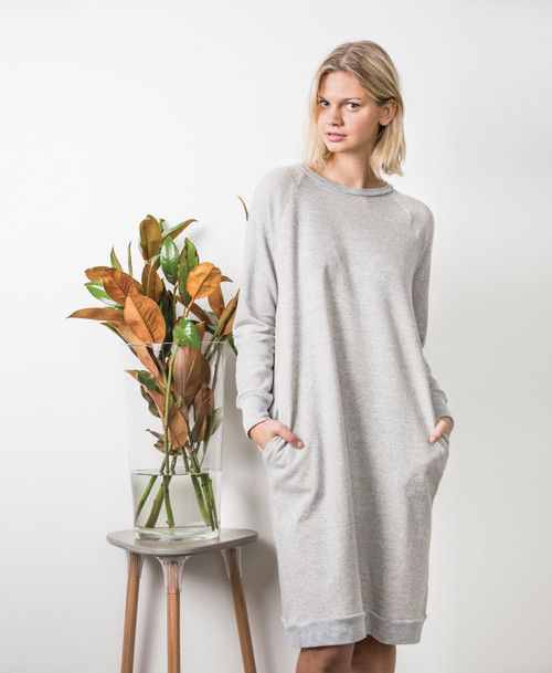New pattern : The Jersey Dress - in collaboration with Peppermint Magazine — In the Folds