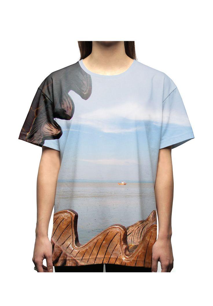 vstefyvs T-Shirt-Oversize Kenjeran Beach
