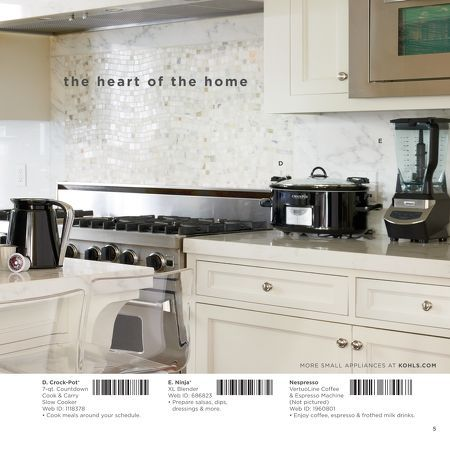 Kitchen Electrics In Kohls Wedding Gift Registry 2015 Catalog