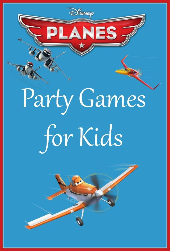 Take off Into Excitement with these Planes Party Games for Kids: These Planes party games for kids will make your Disney Plane's theme party a huge hit! With the release of Planes: Fire and Rescue, kids will definitely be asking for parties with their favorite characters. Keep your little guests entertained with our fun and easy games!