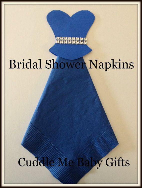Bridal Shower Wedding Dress Bling Bridal by CuddleMeBabyGifts