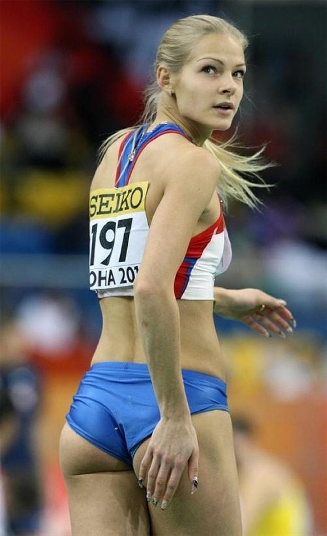 Darya Klishina - Russian long jumper