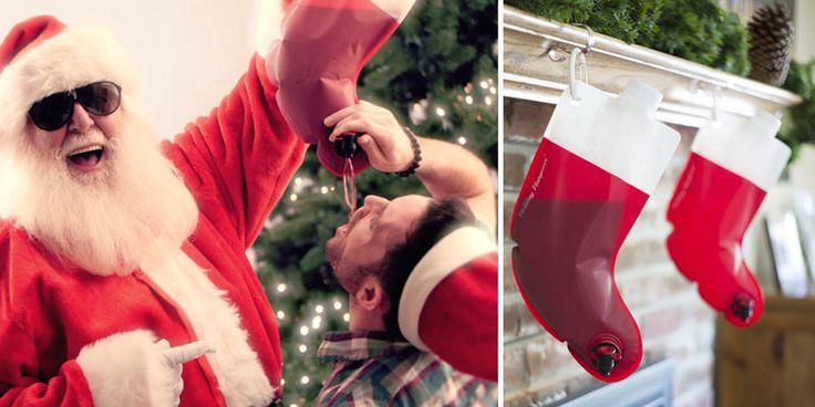 Santa's Flask Is The Ultimate Christmas Stocking | VinePair