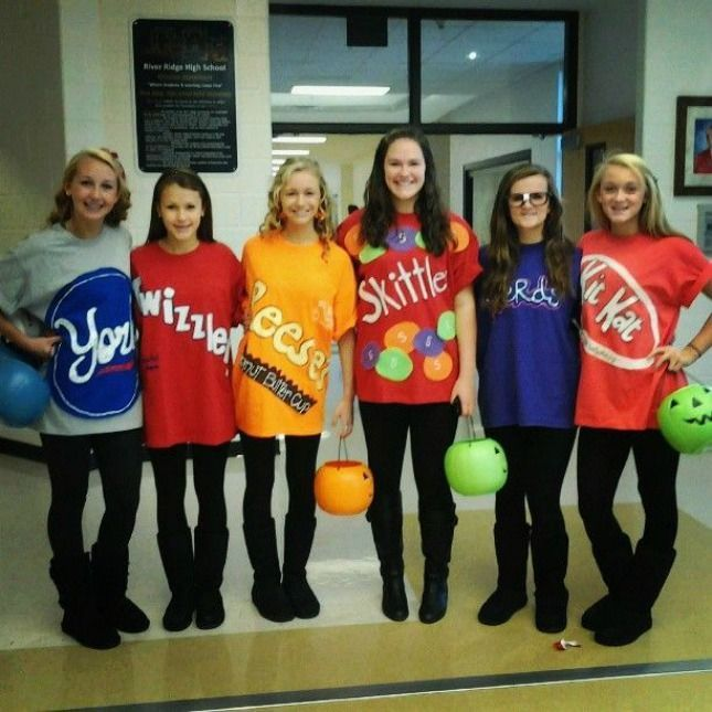 Candy group costume #halloween