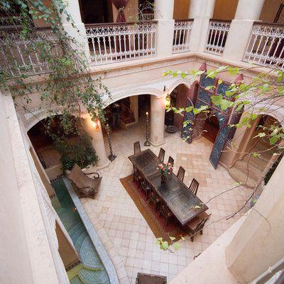 Riad Lorsya Marrakech, Morocco indoor property house home mansion Villa Balcony Courtyard interior design hacienda cottage restaurant