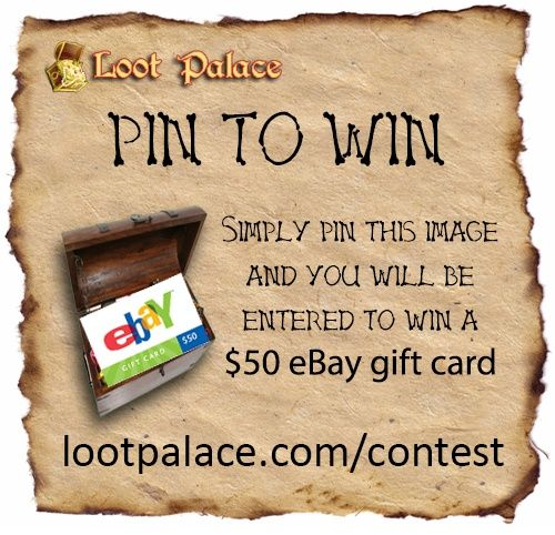 Loot Palace is giving away a $50 eBay giftcard!
