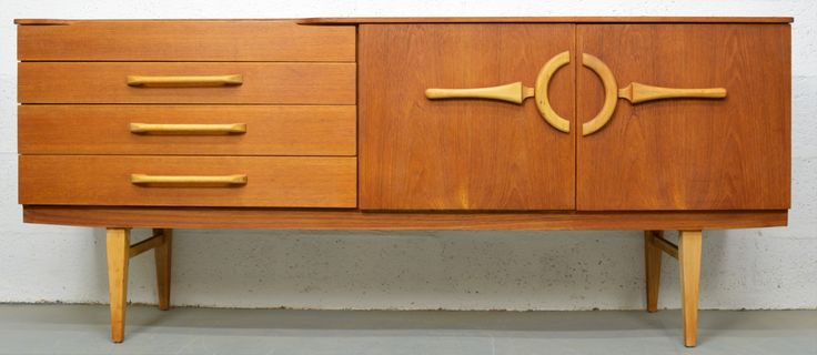 Mid Century Teak Sideboard by Beautility