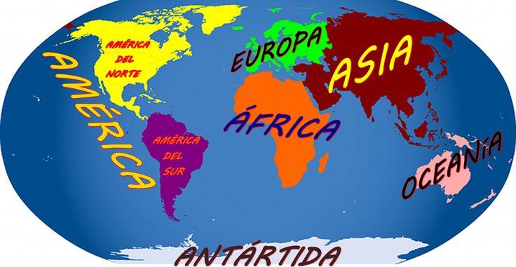 que son los continente y cuales Son.Video simplificado para que los niños aprendan fácilmente que son los continentes