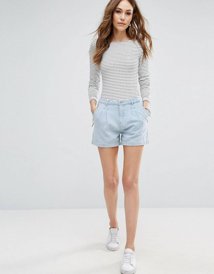 Vero Moda Herringbone Shorts