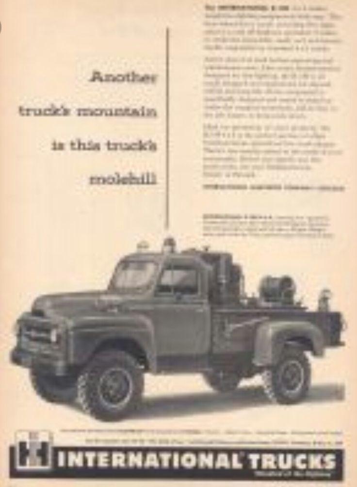 Pin by Ben Sivertson on Vintage 4x4 Trucks   Pinterest   Harvester ...