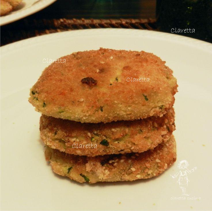 Polpette zucchine e carote, Ricette polpette vegetariane 209.01